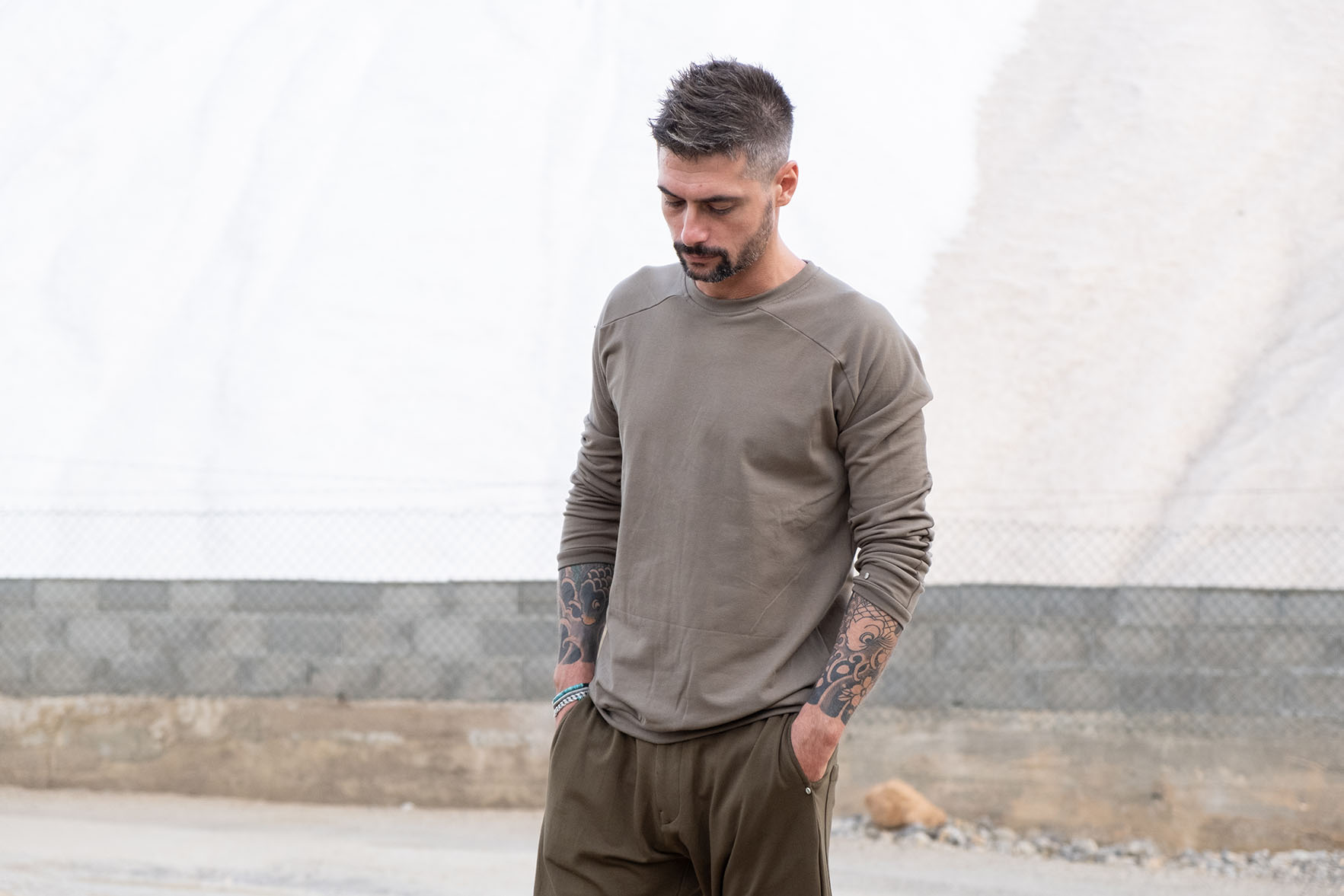 3 sfashion_Jumper_trousers_jersey_green